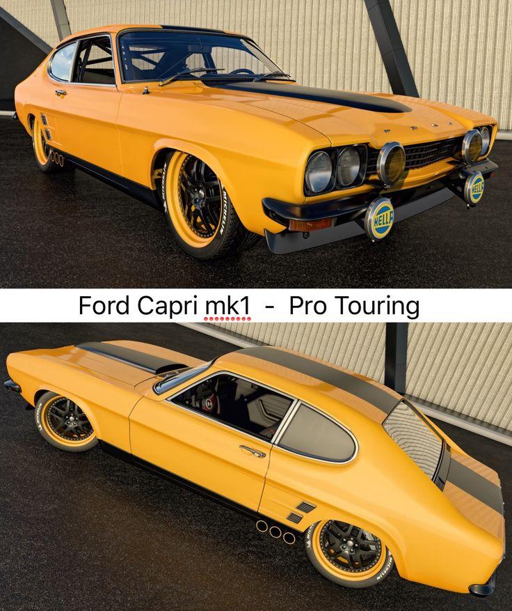 Pro Touring Ford Capri mk1