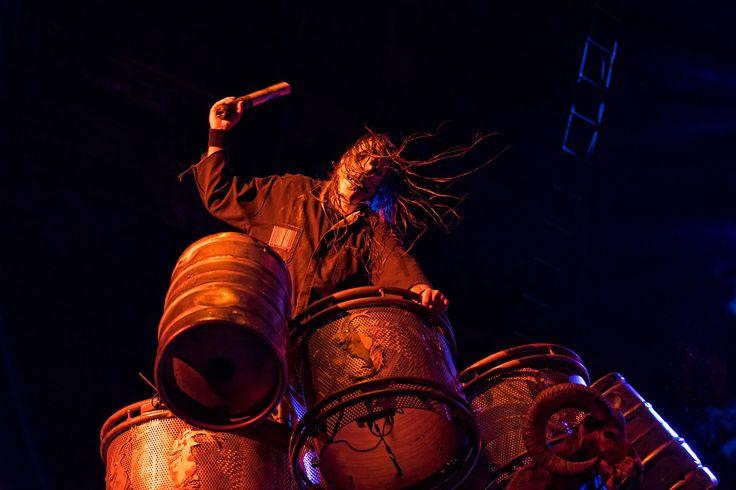 Slipknot August 16, 2015.  Photo © Todd Morgan