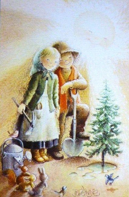 375 best images about bricolage de postales on pinterest - Ilustraciones infantiles antiguas ...