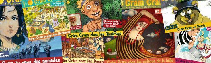 Cram Cram magazine à partir de 6 ans - abonnement
