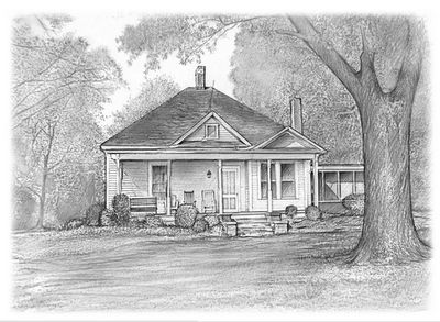 Pencil Drawings Of Old Houses House Pencil Drawing The Journey Of Art Pinterest Drawings Of Pencil And Old Houses