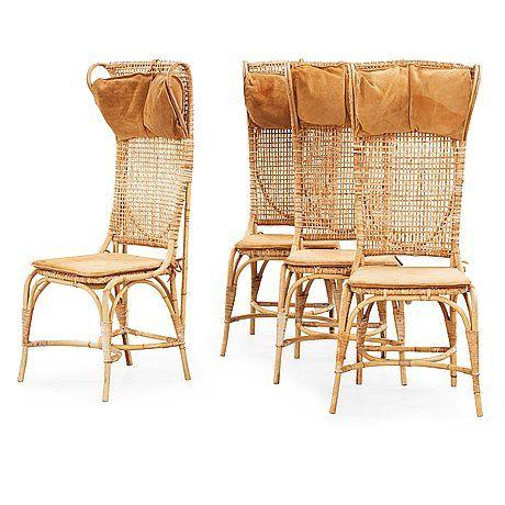 Josef Frank for Svenskt Tenn wicker chairs