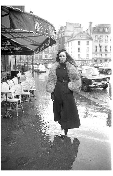 Niki de Saint Phalle in Paris in 1965