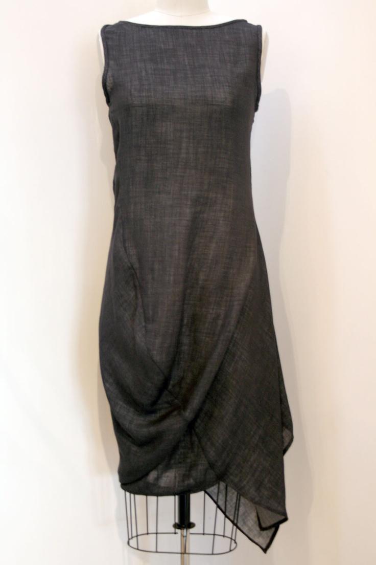 .linen dress