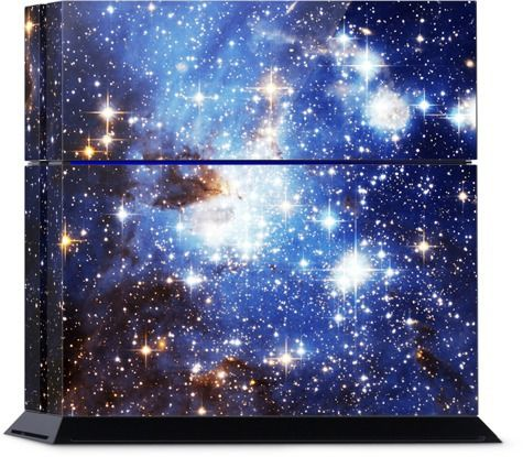 Blue Galaxy PS4 Skin - Available Here: http://nuvango.com/sondersky/blue-galaxy/ps4