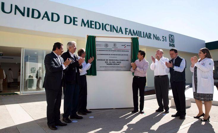 Se inauguró Unidad de Medicina Familiar número 51 del IMSS en San Luis Potosí - http://plenilunia.com/novedades-medicas/se-inauguro-unidad-de-medicina-familiar-numero-51-del-imss-en-san-luis-potosi/43988/