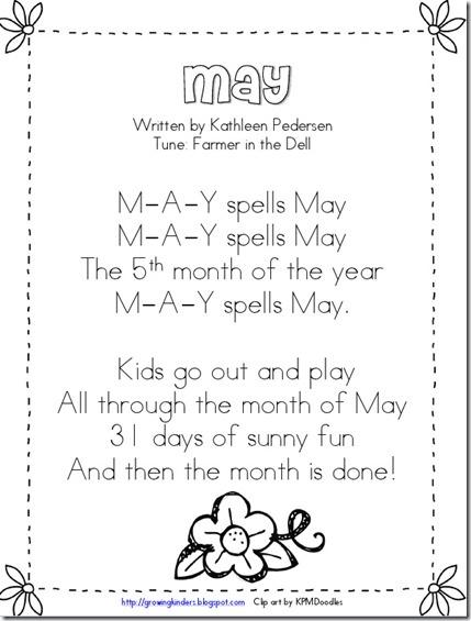 """""""May"""" Song"""