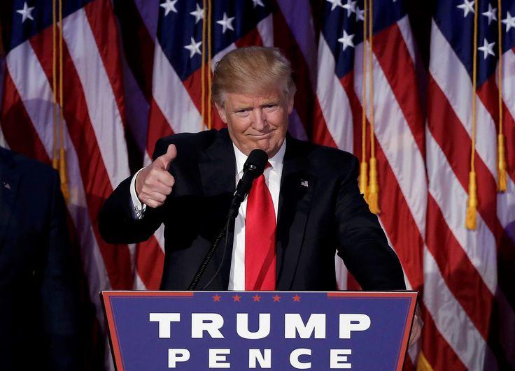 Donald Trump élu 45e président des Etats-Unis
