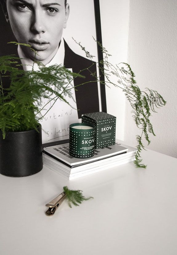 we love skandinivisk scented candles at Cloudberry Living,they smell divine... this is Skog styled here. Scent of the Scandinavian forests to transport you away. Gift boxed 50 hours of scent fresh and invigorating.