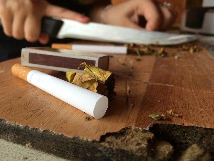 made cigarette