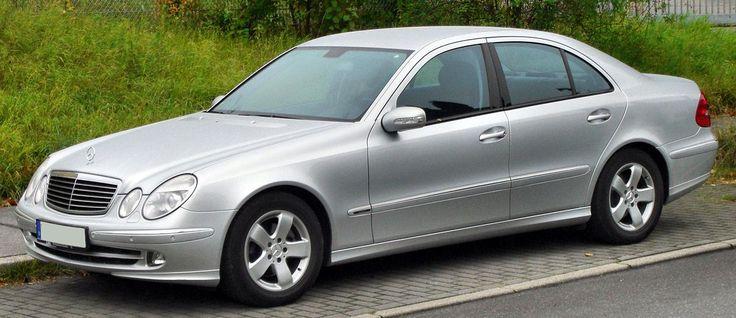 Mercedes E-Klasse Avantgarde (W211) front