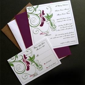Hummingbird Invitations #Hummingbird #Wedding