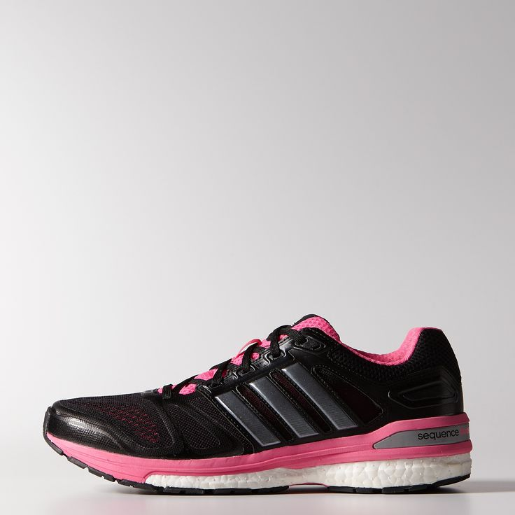 adidas - Keep your pace, laced into the women's Supernova Sequence Boost 7. The most recent running shoe in a legendary series, this Supernova features an energy-returning boost™ midsole for a powerful stride that doesn't feel overly cushioned. Built in breathable air mesh with supportive synthetic overlays, the Sequence 7 is one of the most stable running shoes on the market. It all rides on a Continental™ Rubber outsole for excellent grip on wet, slippery roads. $130