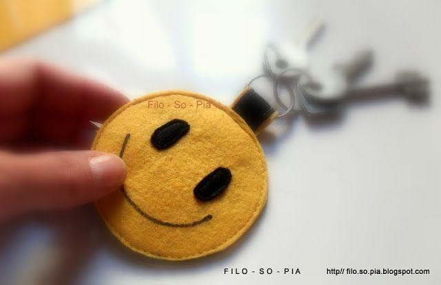 Trova-chiavi sorriso - filosopia