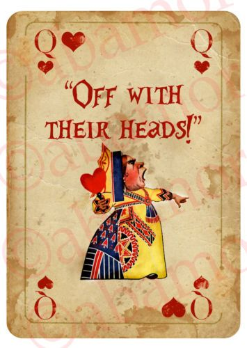 Alice-in-Wonderland-Arrow-Quote-Signs-Prop-Mad-Hatters-Tea-Party-Decoration-LOTS