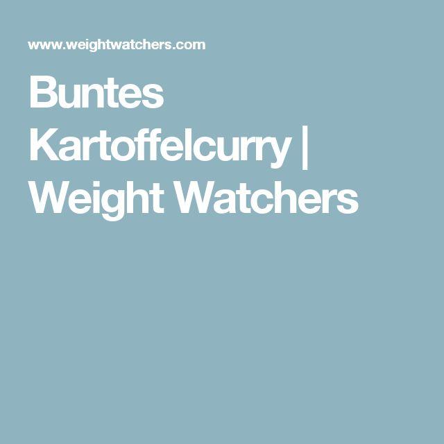 Buntes Kartoffelcurry | Weight Watchers