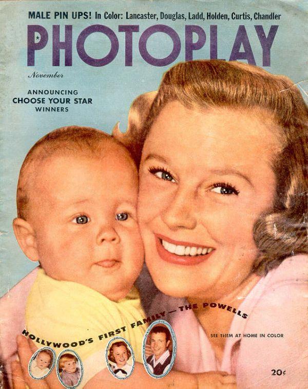 Movie Stars 1951 June Allyson-Doris Day-Ann Blyth-Tony Curtis-Ricardo Montalban