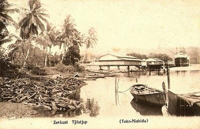 Pantai Cilacap 1915