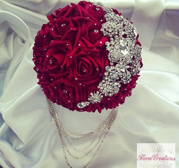 top  best bridal bouquet red ideas on   red rose, Natural flower