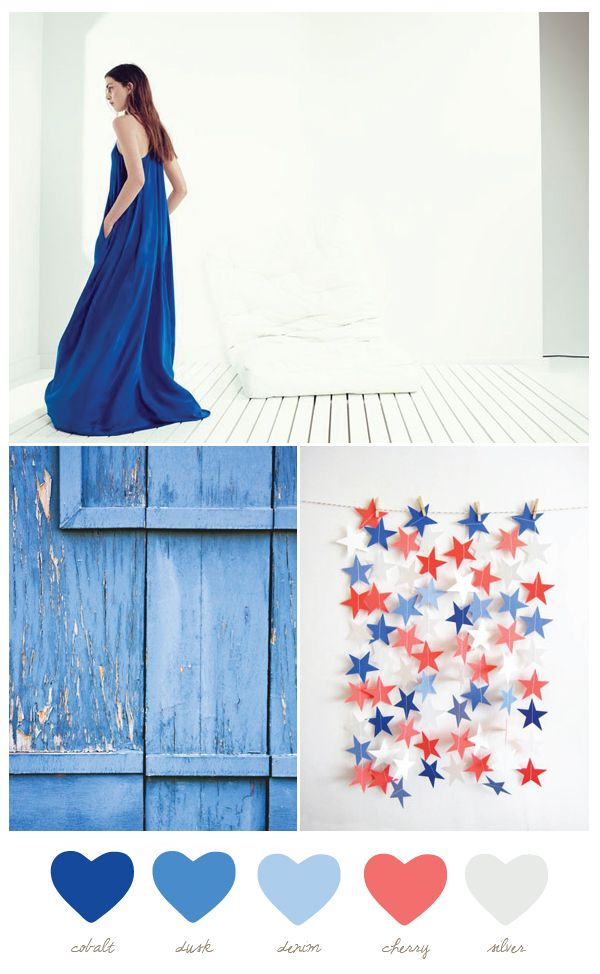 Love the star garland! Punch out the stars from a piece of paper from the theme color of your party, and feed it through the sewing machine.