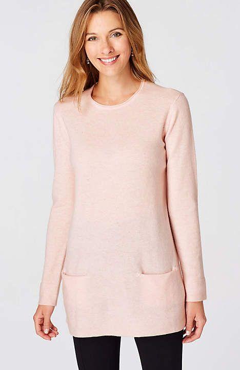 Cashmere Sweater Tunic | JJill
