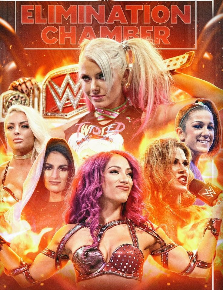 Elimination Chambers PPV Alexa Bliss defeat Mickie James, Sasha Banks, Bayley, Mandy Rose, Sonya DeVille to Retain Raw Woman Champion