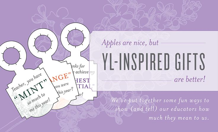 Perfect YL-Inspired Teacher's Gifts! | Young Living Blog