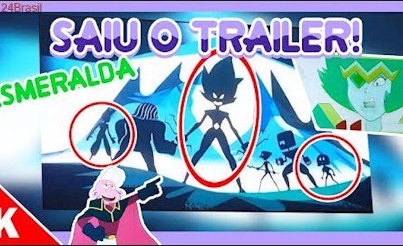 SAIU TRAILER! ESMERALDA!  ANTIGAS CRYSTAL GEMS! (SD CC 2017) Steven Universo
