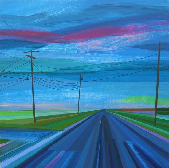 Good Night Scuttle Hold Road original painting by Grant Haffner