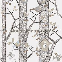 Lilleby 2651 van Voca bomen, vogels, vlinders behang bij kleurmijninterieur.nl