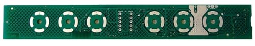 Electronic control system for hoods with capacitive keyboard FEGR031