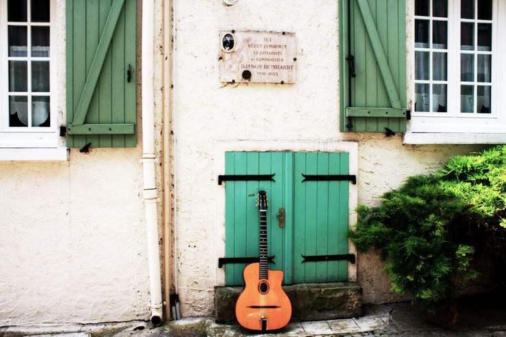 Samois sur Seine France Django Reinhardt house