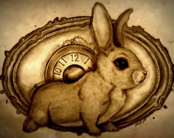 Steampunk Vintage Rabbit by Shaylafish