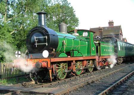 SECR C-class No.592  'C-class No.592 - 8 August 2007 - Rob Faulkner