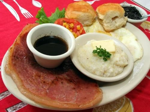 Ham And Grits With Red Eye Gravy Recipes — Dishmaps