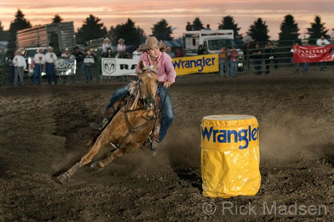 Rodeo Photography by Rick Madsen - Professional Rodeo and Western Photographer