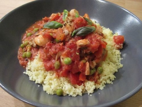 Jamie Oliver's Moroccan Stewed Fish With Couscous