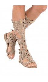 Sandal Swarow TAUPE - pink summer ss15 - Raglady
