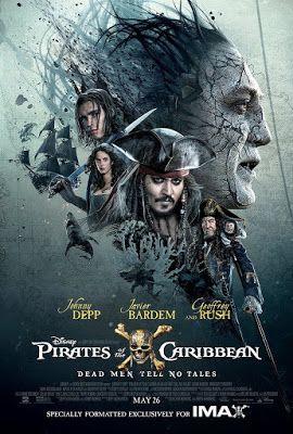 """Moje Małe Czarowanie: """"Piraci z Karaibów: Zemsta Salazara"""" - zaproszenie..."""