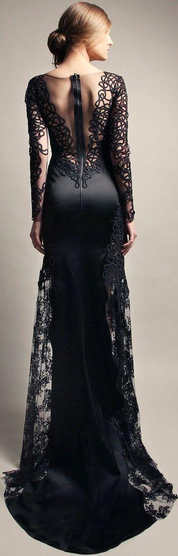 #street #fashion black gown @wachabuy