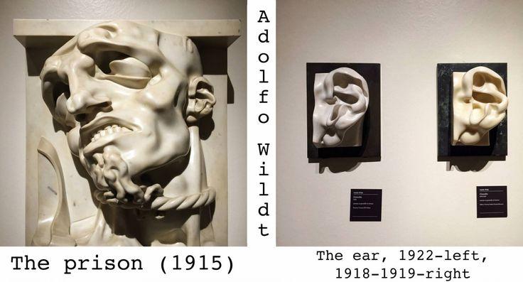 Adolfo Wildt. The prison. The ear