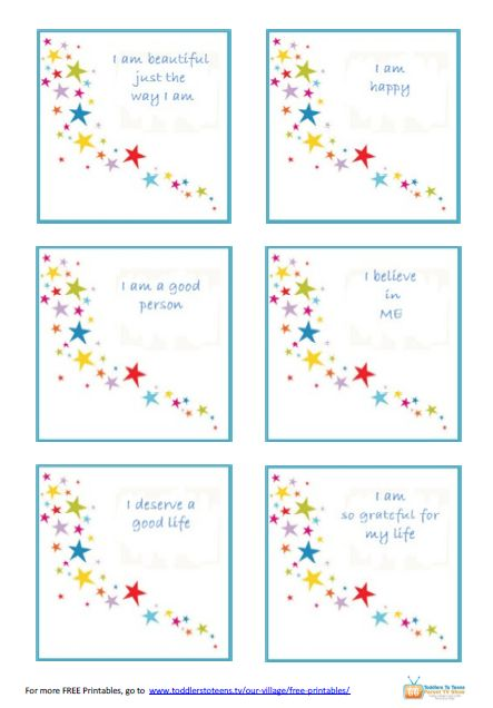17 Best images about Kids - Affirmations on Pinterest