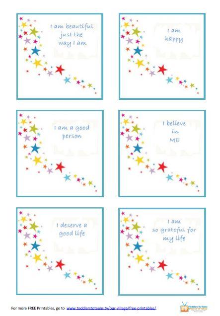 affirmations for children | Positive Affirmations For Kids