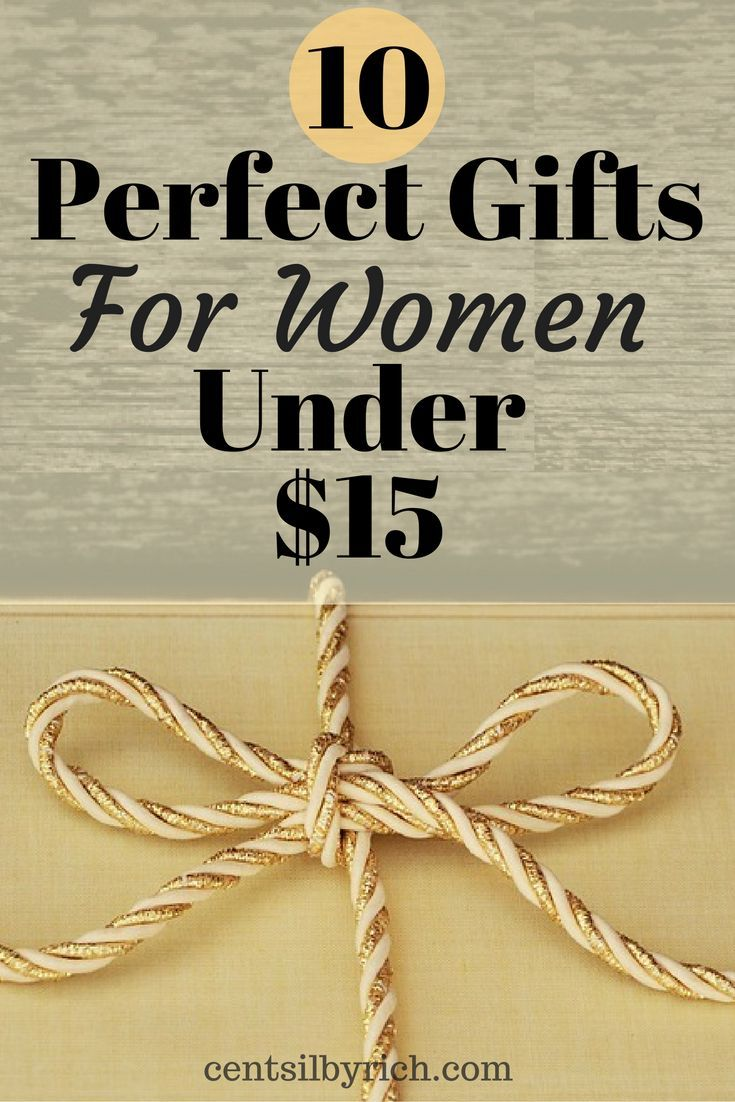 Find the perfect gift for the woman in your life without breaking the bank! Here are 10 great gifts for women for under $15.