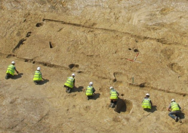 New evidence of Stone Age and Iron Age activity in the Weald area of Sussex has been revealed by findings from archaeological excavations at Countryside Properties' Wickhurst Green development near Horsham [Credit: West Sussex County] This new evidence, found at Countryside Properties' Wickhurst Green in Broadbridge Heath, sheds further light on the theory that the Weald was not the unpopulated wilderness during prehistoric times that it was previously thought to be.