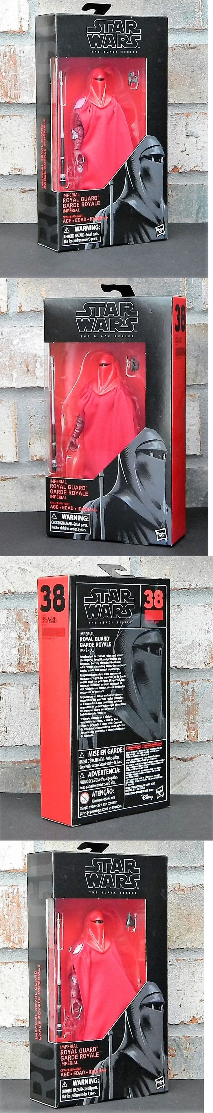 TV Movie and Video Games 75708: Emperor S Royal Guard Star Wars The Black Series 6 Inch Action Figure Rotj -> BUY IT NOW ONLY: $35.84 on eBay!