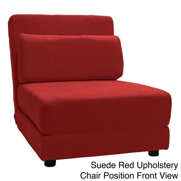 Cosmopolitan Click Clack Convertible Futon Chair Bed  Overstock.com