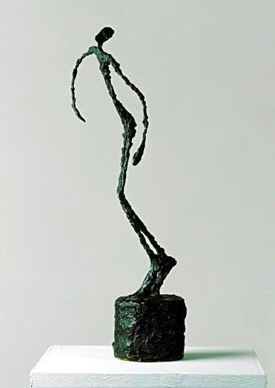 Alberto Giacometti, swiss sculptor, 1901-1966