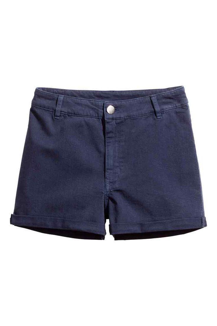 Твиловые шорты, высокая талия | H&M