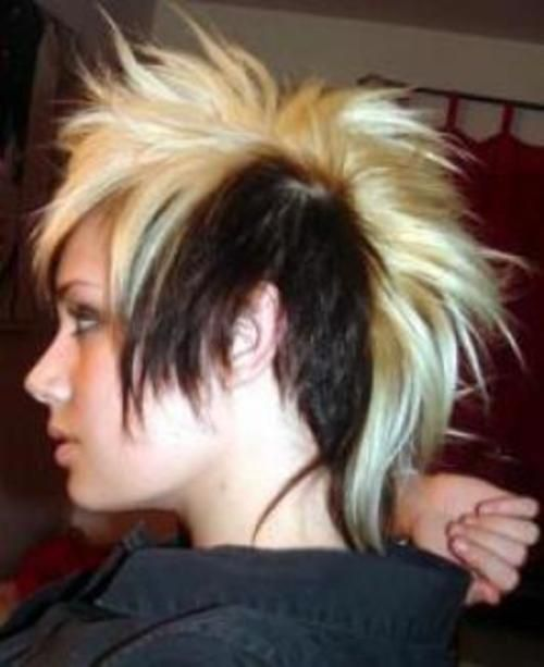 Enjoyable 1000 Images About Mohawk On Pinterest Mohawk Hairstyles Hairstyle Inspiration Daily Dogsangcom